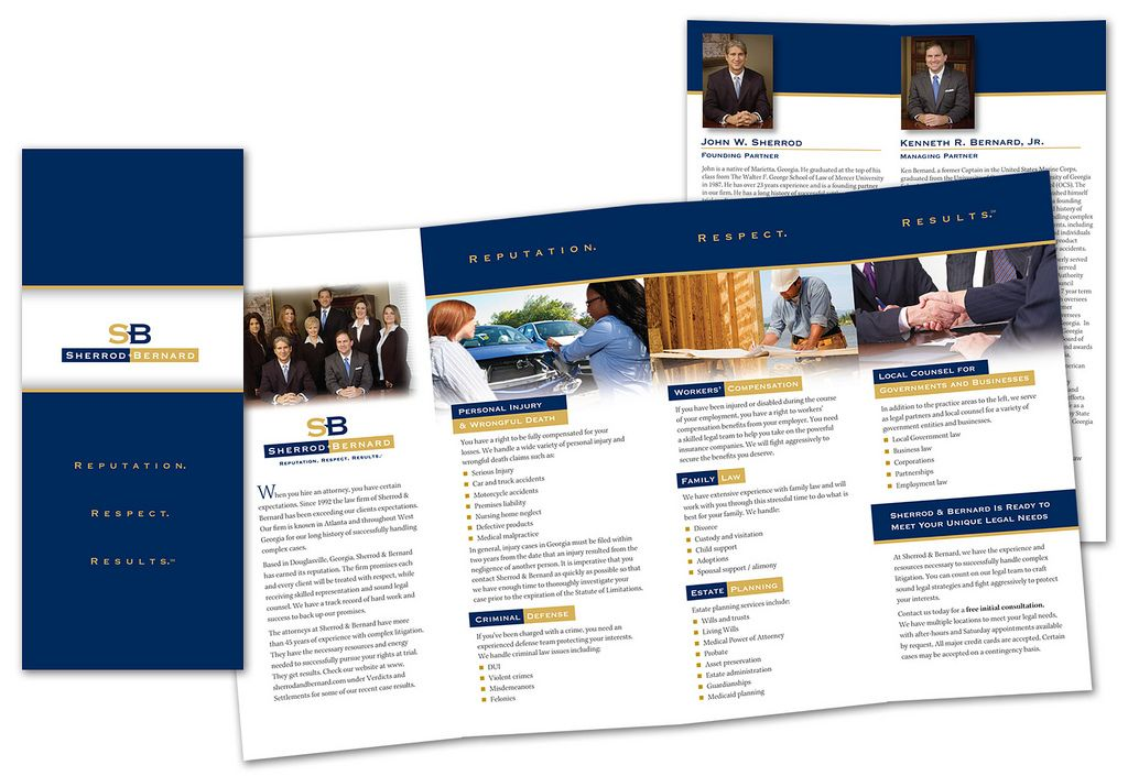 Law Firm Brochures. Law Firm - Allen Law Firm - Blog.Hr | Diseño