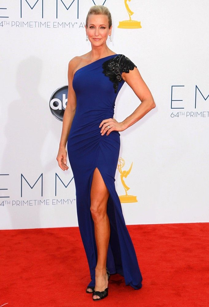Lara Spencer In Badgley Mischka 2012 Primetime Emmy