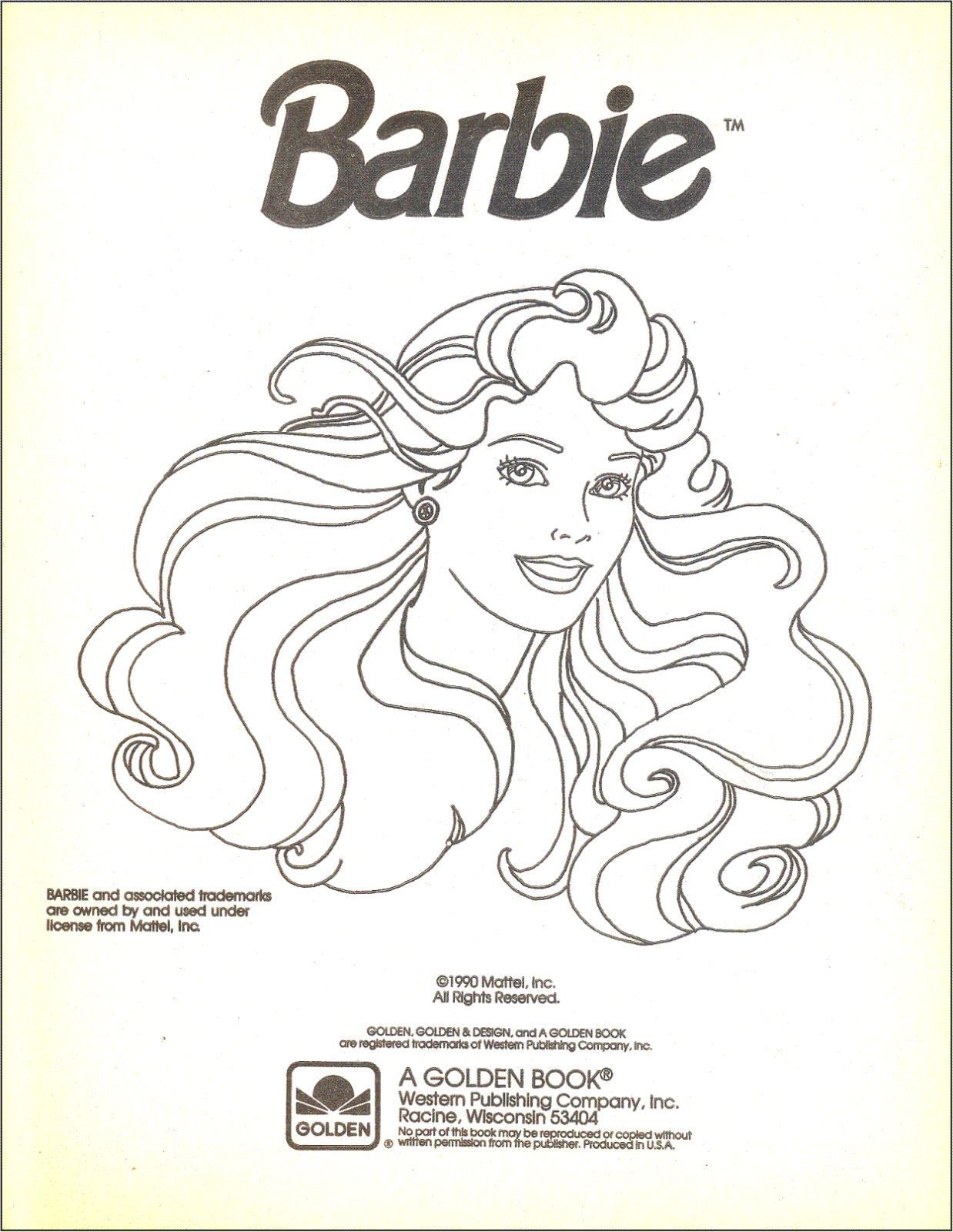 barbie coloring books for sale # 3