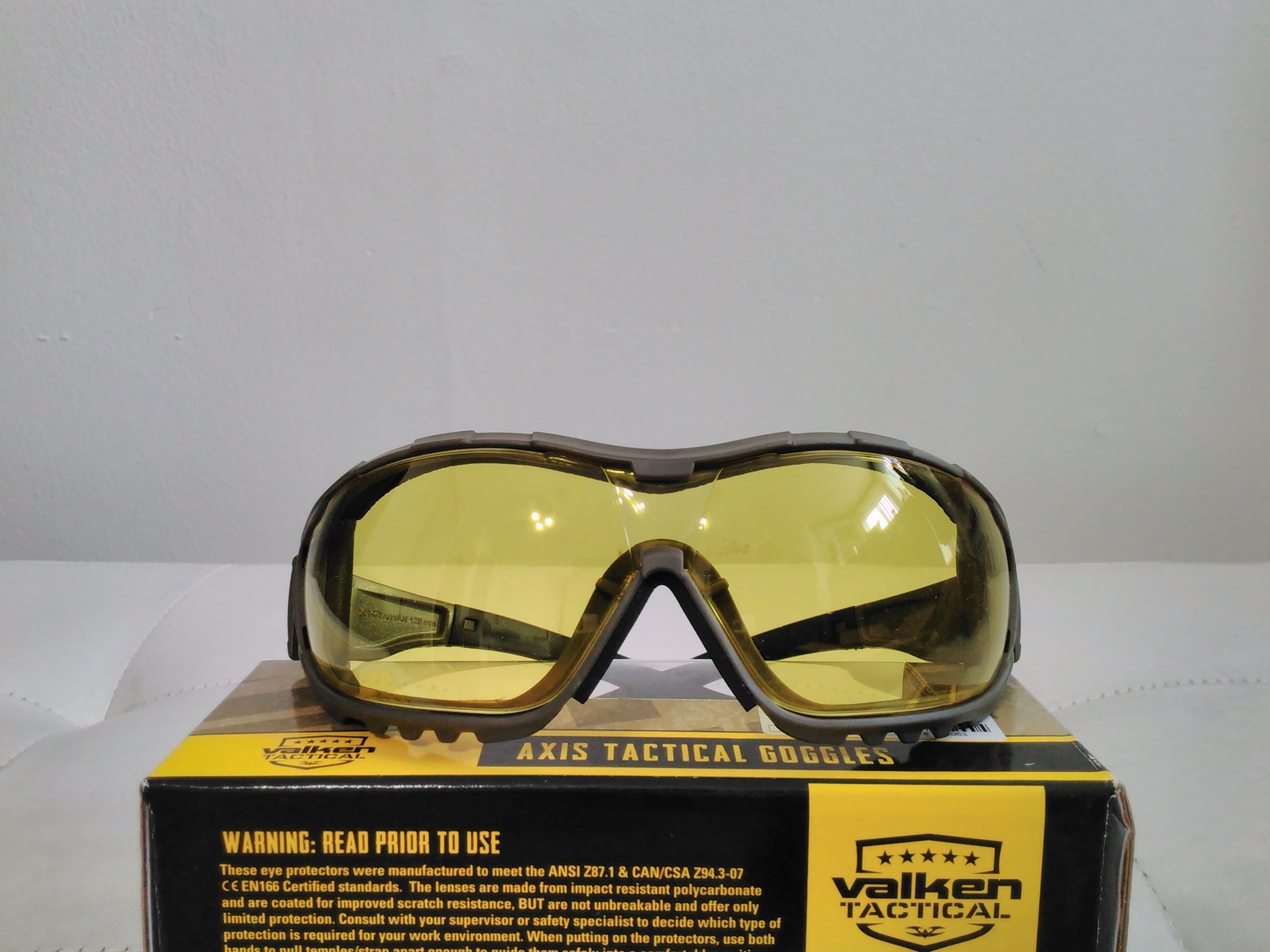 Valken VTAC Axis Airsoft Goggles (With images) Airsoft