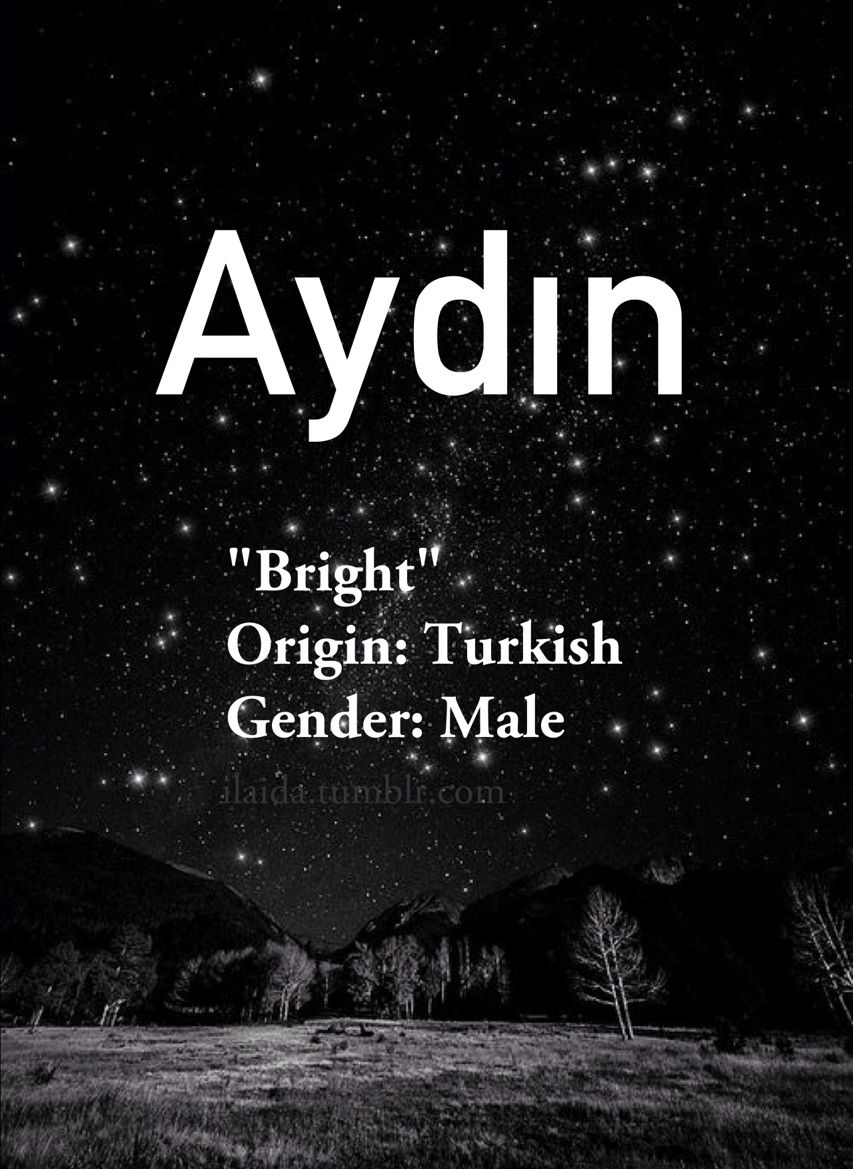 Baby Boy Name Aydin Meaning Bright Origin Turkish