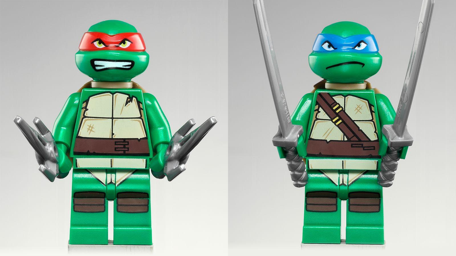 Lego Teenage Mutant Ninja Turtles Official Collection, People