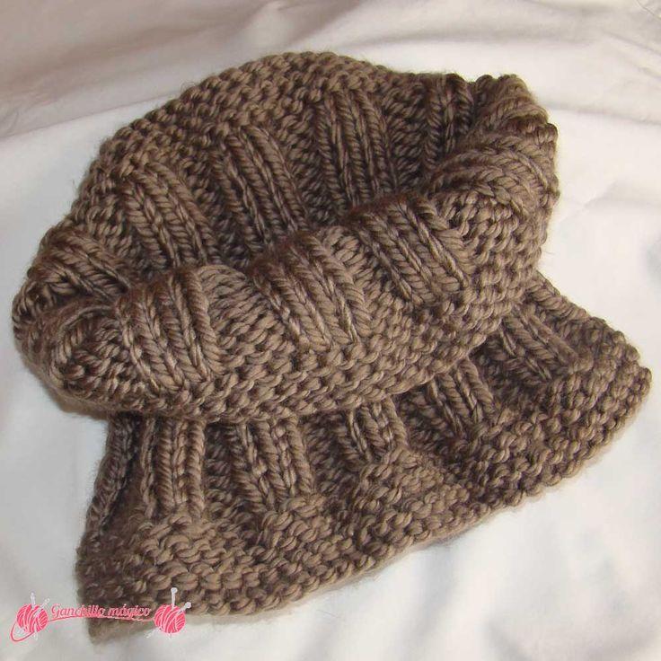 Resultado de imagen para modelos de bufandas tejidas a dos agujas ...