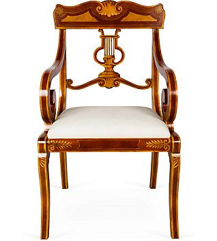 Thomas sheraton 39 s english neo classical furniture 1785 for What is sheraton style furniture