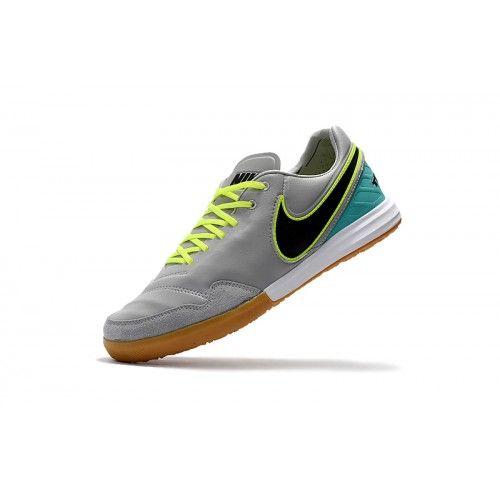 3de63eb45ea Nike Tiempo - Comprar Nike TiempoX Proximo IC Gris Azul Zapatos De Soccer  Outlet