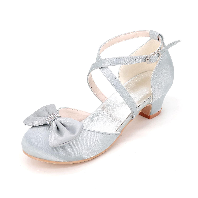 Sweet girls satin dress shoes  0fcc2b8dfe8c