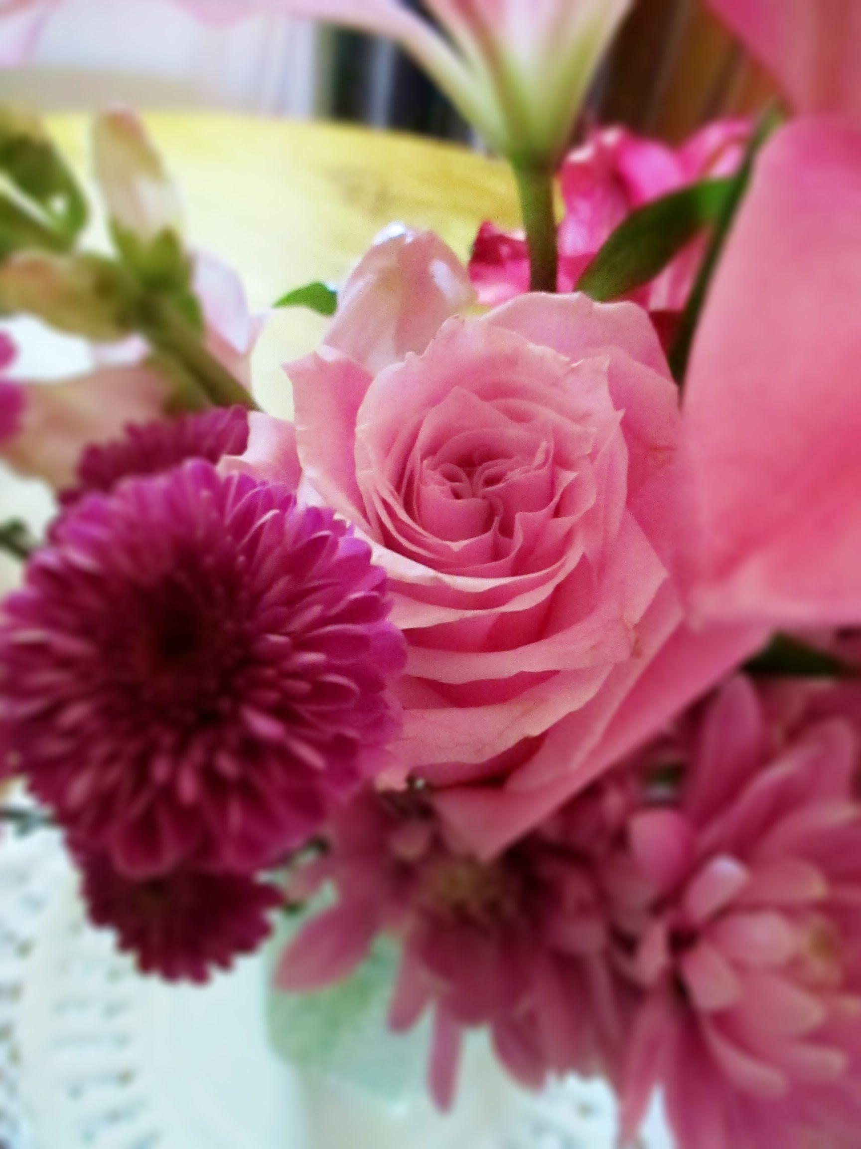 Pinkpurple flowers bouquet flowers pinterest flowers pinkpurple flowers bouquet izmirmasajfo