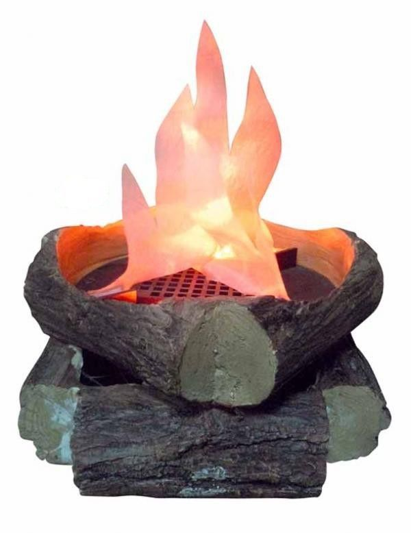 Flame Lamp with Artificial Logs Fake Fire Flame Light Material ...