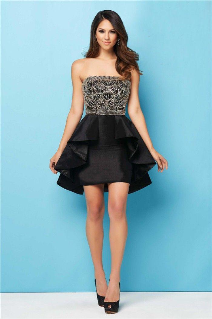Short Taffeta Dress