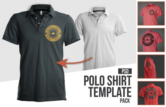 Mens polo shirt mockup template psd best of men 39 s for Free polo shirt mockup