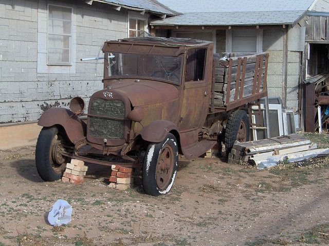 Old Truck   Flickr - Photo Sharing!