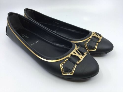dbd3aa28552 LOUIS VUITTON Authentic Louis Vuitton Women s Oxford Flat Ballerina Shoe  size 7.5-8 US