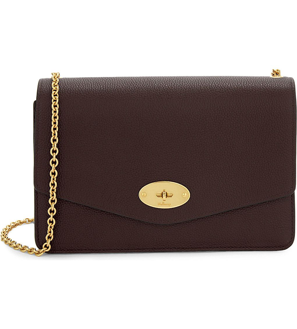 MULBERRY Darley large leather clutch 18dc46e09f7e7