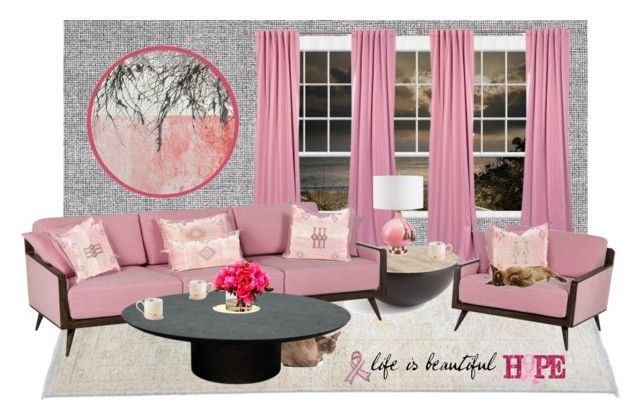 Pink | Half price, Interior decorating and Polyvore