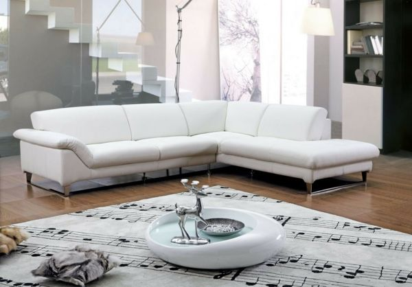 Ecksofa - 105 wunderbare Modelle für Ihre Wohnung! - Archzinenet