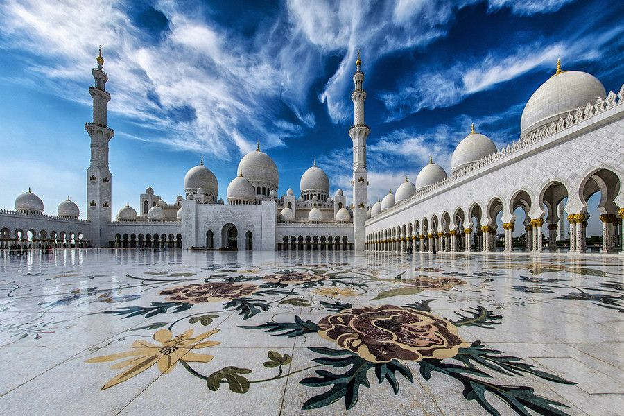 The Pearl of Abu Dhabi by WK Cheoh