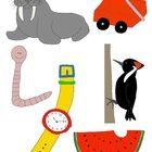 Do you need clip art for the Letter W? Look no further! Enjoy my hand-drawn, full-color images that are