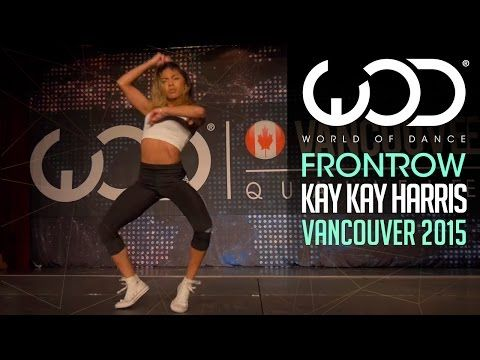 "Kaelynn ""KK"" Harris   FRONTROW   World of Dance Vancouver 2015 #WODVAN2015 - YouTube"