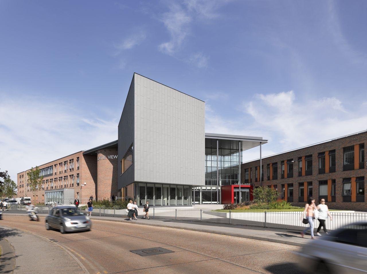 Castle View School Nicholas Hare Architects Architect School Building Design School Architecture