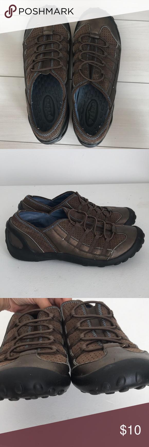 Clarks Privo slip on sneakers leather