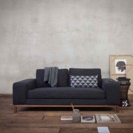 canap sofa cuir 3 places saloon ethnicraft salon pinterest canap s canap cuir et table. Black Bedroom Furniture Sets. Home Design Ideas