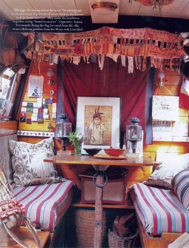 int rieur de bateau p niche d 39 emma freemantle londres whatever floats your boat style. Black Bedroom Furniture Sets. Home Design Ideas