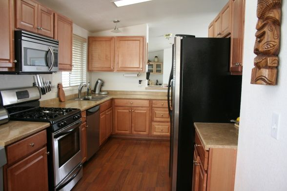Mobile Home Kitchen Renovation Ideas Mobile Home Kitchen Remodel The Kitchen Is In A