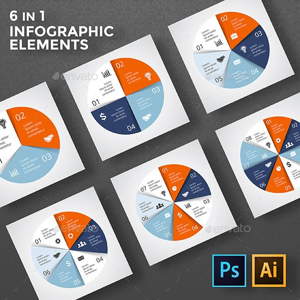 Circle diagrams infographic psd eps ai pinterest circle circle diagrams infographic templates psd eps ai ccuart Images