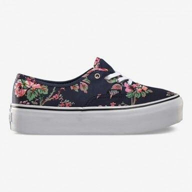 vans authentic flores