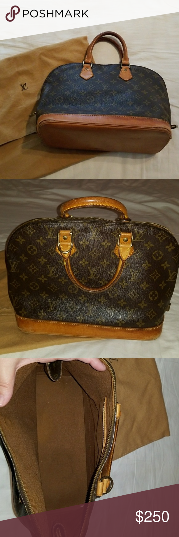 Louis Vuitton Alma Mm Louis Vuitton Alma Louis Vuitton Louis Vuitton Bag