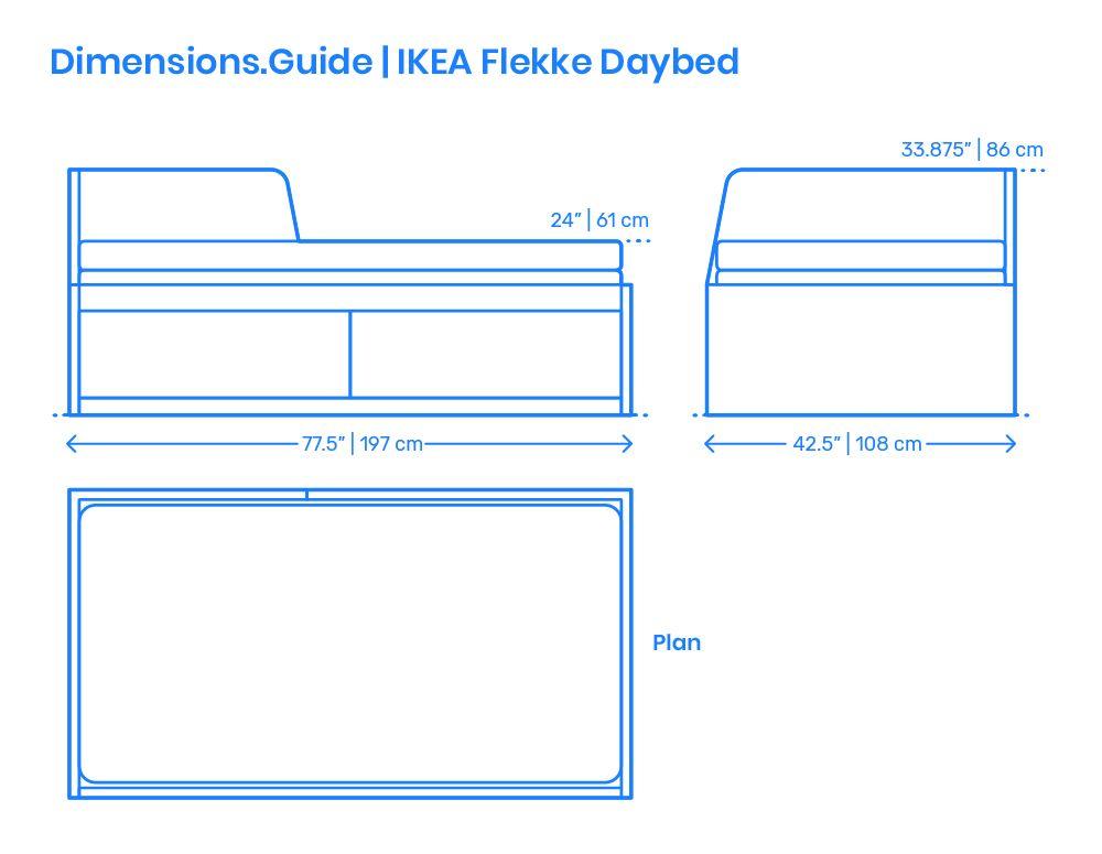 Ikea Flekke Daybed Daybed Ikea Upholstered Headboard