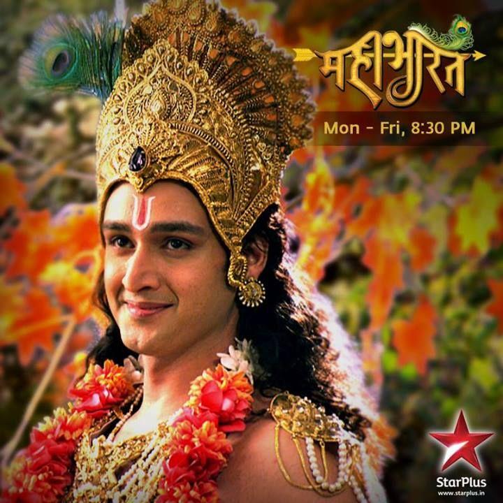 Star Plus Mahabharat Krishna (Saurabh Raj Jain) Shirtless ...