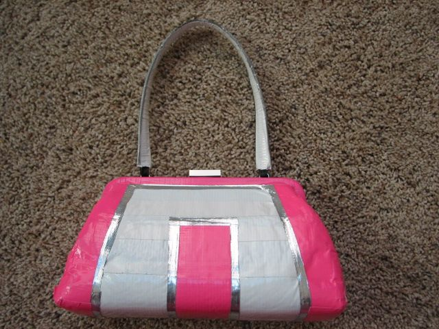 My Duct Tape Purse By Abbyjion Deviantart