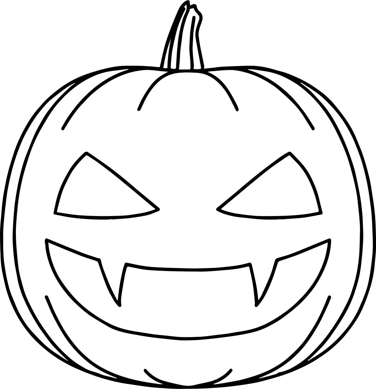 awesome Bat Halloween Pumpkin Coloring Page Pumpkin