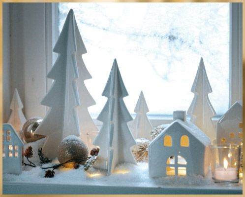 eine festlich dekorierte fensterbank darf ein weihnachten nicht fehlen die passenden artikel. Black Bedroom Furniture Sets. Home Design Ideas