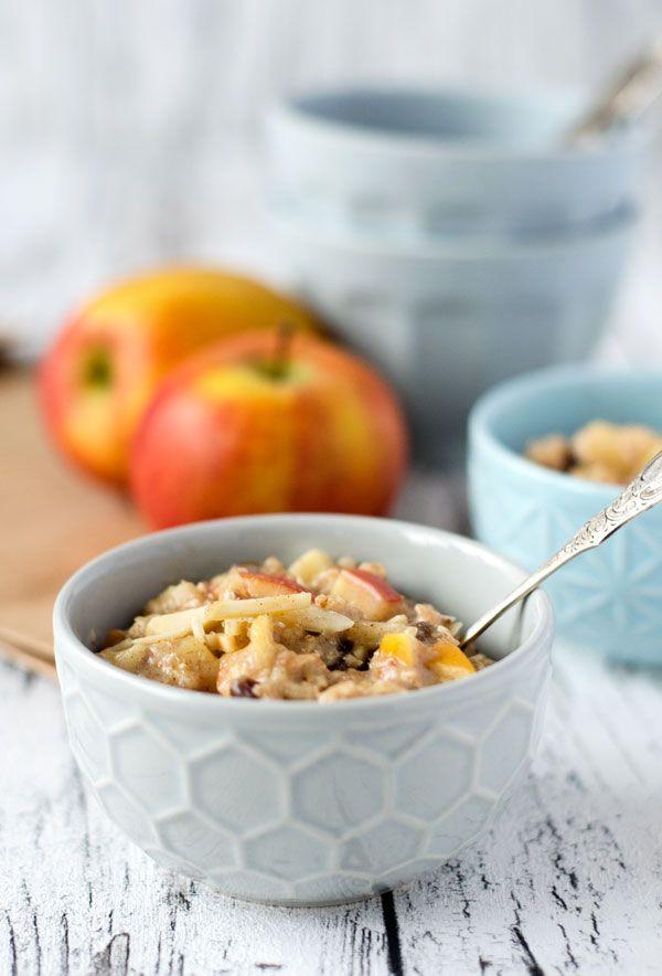 bratapfel oatmeal pudding rezept blogger winter wohlf hl k che. Black Bedroom Furniture Sets. Home Design Ideas