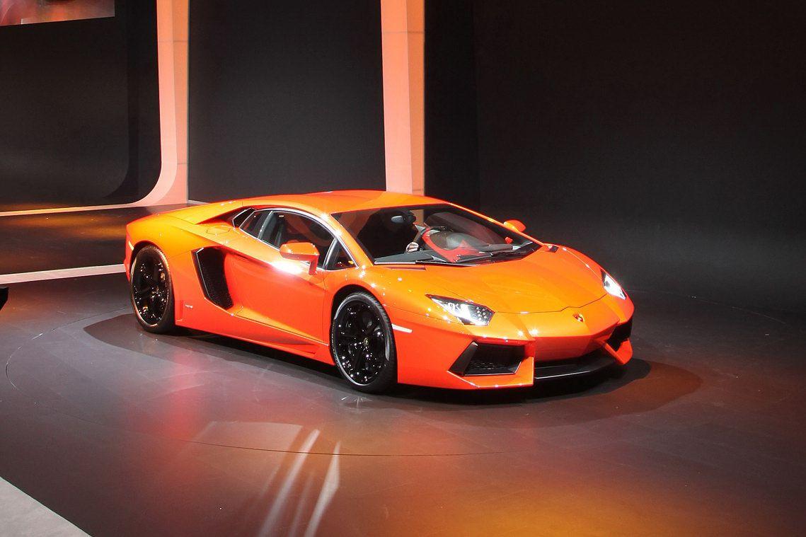 My Dream Car Lamborghini Aventador Orange
