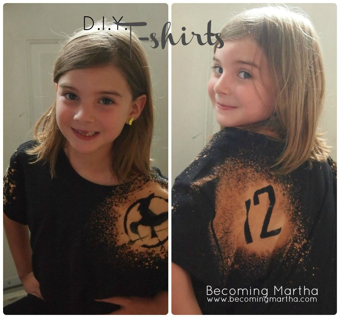 Becoming Martha: DIY T-Shirt with Freezer Paper Stencil