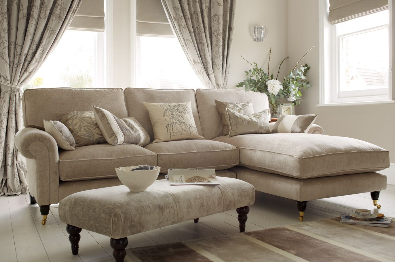 Settee End Of Bed Kingston Upholstered Chaise End Sofa Right Hand Facing Laura
