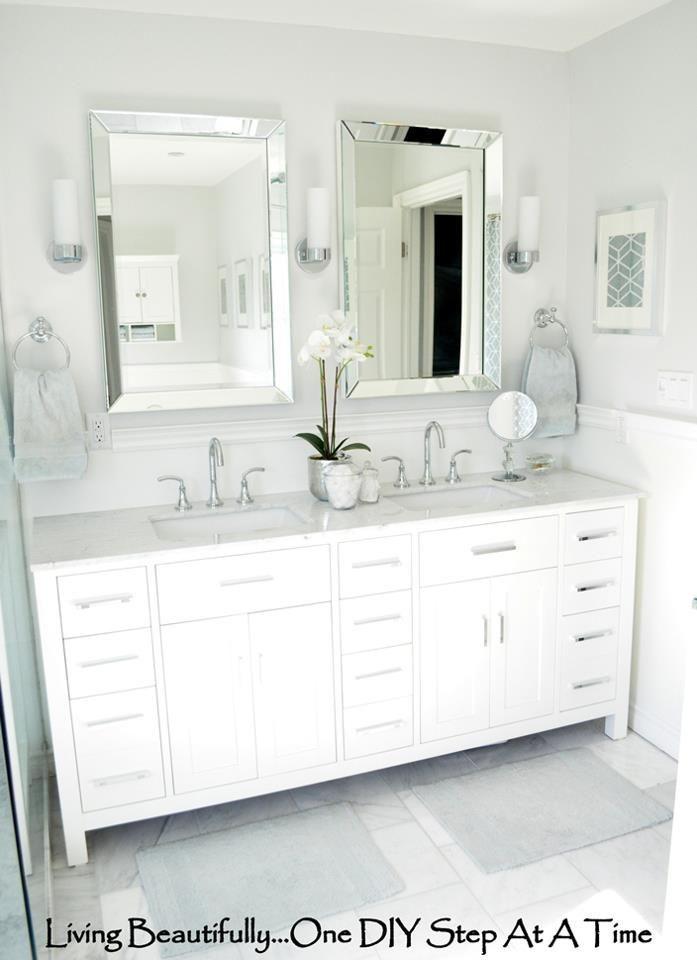 Master Bath Tile Http Livingbeautifullydiy Blogspot Com 2012 04 Sourcing Sourcing Html A Few Small Trendy Bathroom Small Bathroom Remodel Bathrooms Remodel