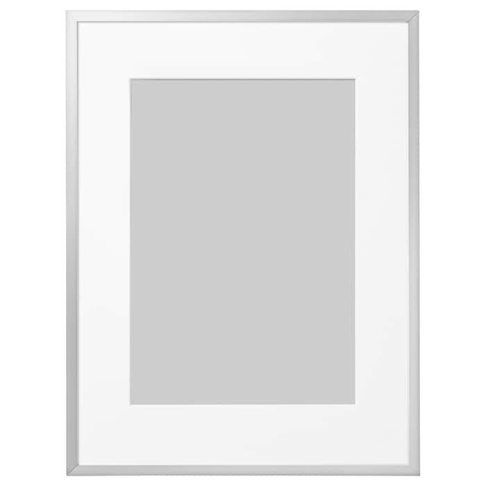 Lomviken Frame Aluminum 12 X16 Ikea Ikea Picture Frame Ikea Photo Frames Picture Frame Sizes