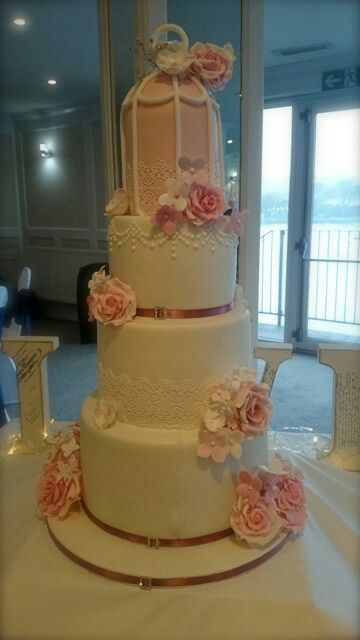 Aprils wedding cake.