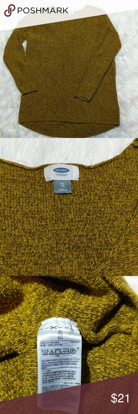 Old Navy V Neck Sweater | Mustard sweater, Navy sweaters and Scoop ...
