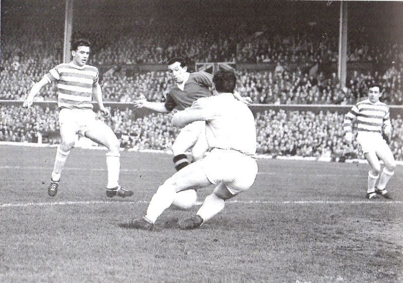 Ralph Brand scores v Celtic cup final replay (1963) 3-0