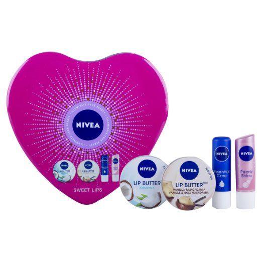 Nivea Sweet Lips 4-Piece Gift Set: Amazon.co.uk: Beauty