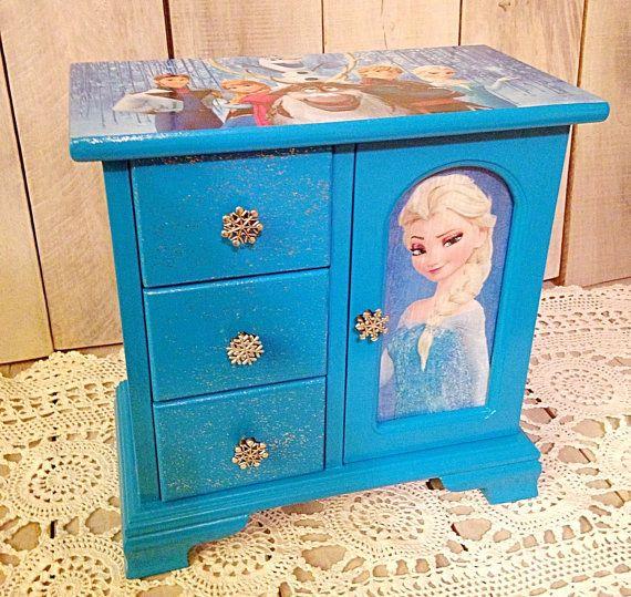 Frozen jewelry boxfrozen jewelry storagefrozen movie jewelry box