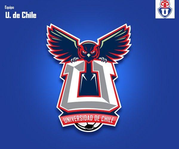 Los escudos del fútbol chileno al estilo NFL  FOTOS  - Ferplei  b04a7963893