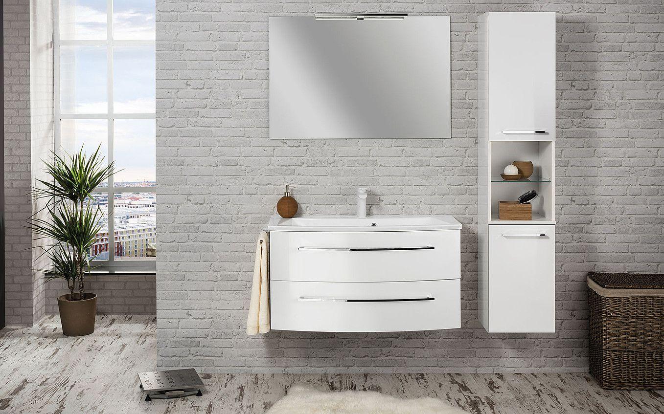 Fackelmann Badezimmer ~ Alles fürs badezimmer schränke waschbecken und armaturen dazu