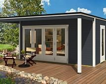 design gartenhaus cubus wohn design. Black Bedroom Furniture Sets. Home Design Ideas