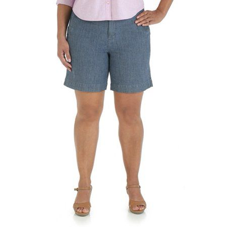 a103a1b2fb9 Plus Size Riders By Lee Women s Plus Casual Walking Short